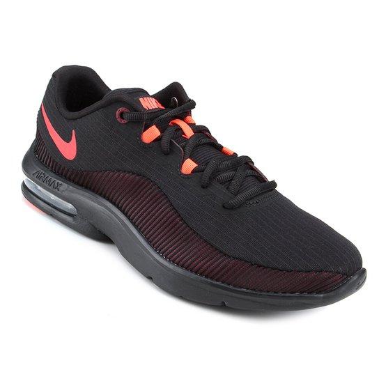 hot sale online 12f8d 1061d Tênis Nike Air Max Advantage 2 Masculino - Preto e Vermelho | Loja ...