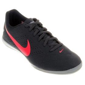 ceaae47077 Chuteira Futsal Nike Beco 2 Futsal - Preto e Azul claro - Compre ...