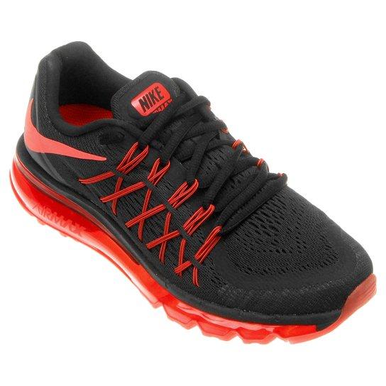 c5f613f11e9 Tênis Nike Air Max 2015 Masculino - Vermelho+Preto