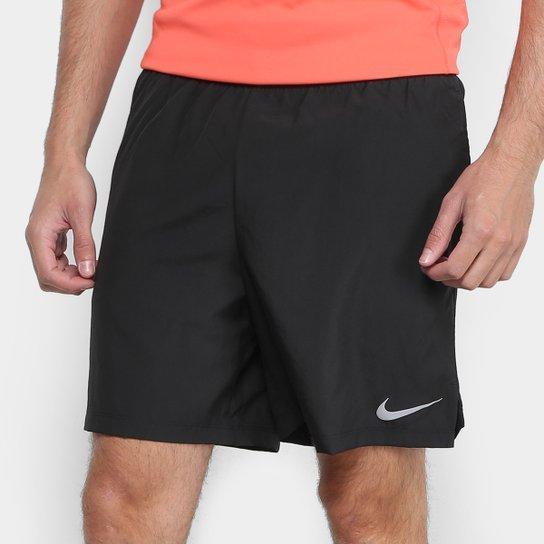 94ad039fc6 Bermuda Nike Challenger BF 7 In Masculina - Preto - Compre Agora ...