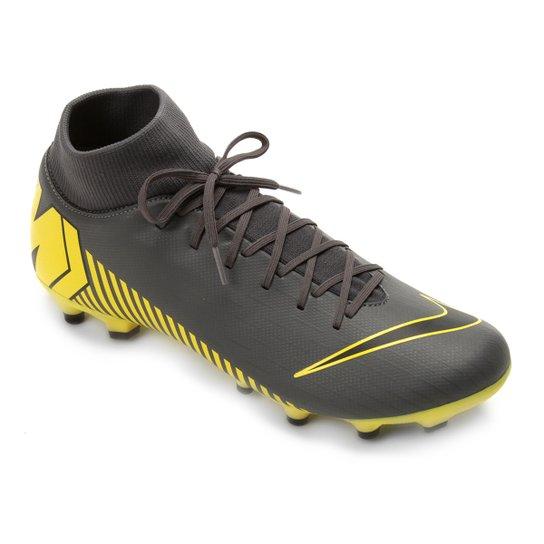 94a850ad59 Chuteira Campo Nike Mercurial Superfly 6 Academy FG - Cinza
