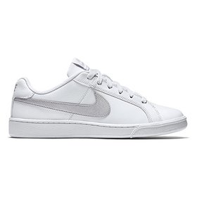 81a4fdea56da2 Tênis Couro Nike Court Royale Feminino - Cinza e Laranja - Compre ...