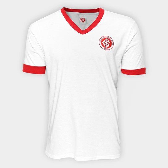 da7c44754df79 Camisa Retrô Internacional Masculina - Branco - Compre Agora