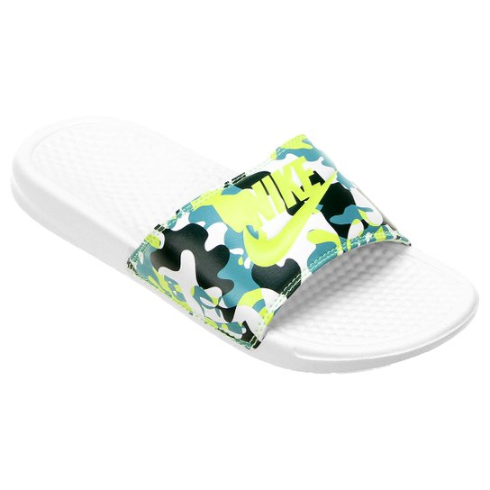 b4c66f12f Sandália Nike Benassi Jdi Print Feminina - Compre Agora