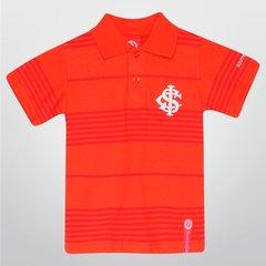 bf1ec218b7c Camisa Polo Infantil Internacional Fio Tinto