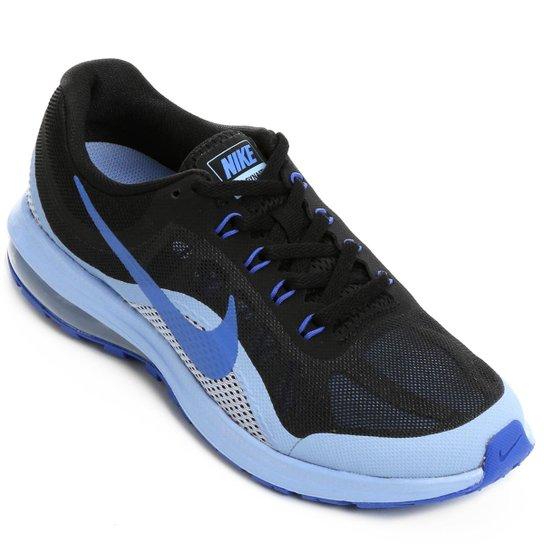 6191609cb8a5b Tênis Nike Air Max Dynasty 2 Feminino - Preto e Azul - Compre Agora ...