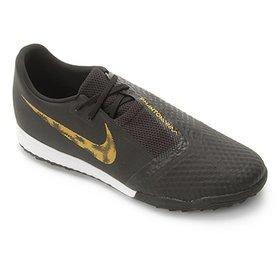 Chuteira Society Infantil Nike Tiempo Legend 7 Academy TF - Preto e ... 6c6f16f5b70f6