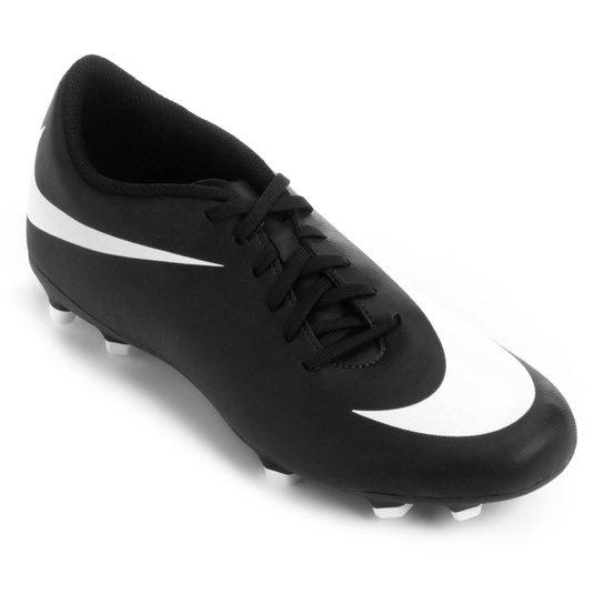 ea61fb485f766 Chuteira Campo Nike Bravata 2 FG - Preto e Branco | Loja do Inter