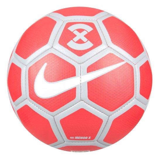Bola Futsal Nike FootballX Menor - Cinza e Vermelho - Compre Agora ... 5cfd03eae9770
