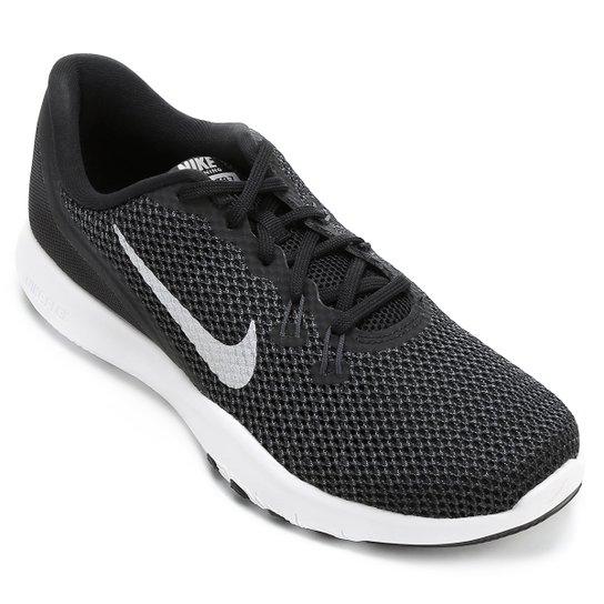 4a56e51b82 Tênis Nike Flex TR 7 Feminino - Preto+Branco