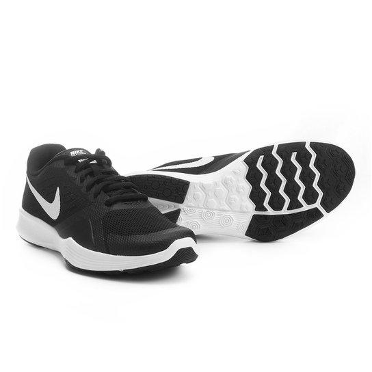 c46b131700ede Tênis Nike City Trainer Feminino - Preto e Branco - Compre Agora ...