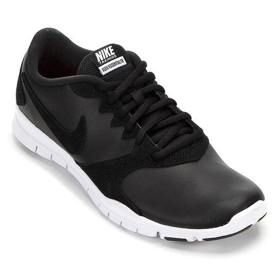 b5d98d30982b8 Tênis Nike Flex Essential Tr Lt Feminino - Preto e Branco - Compre ...