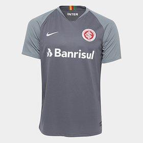 Camisa Infantil Internacional III 2018 s n° - Torcedor Nike - Cinza ... 75f1847c07a96
