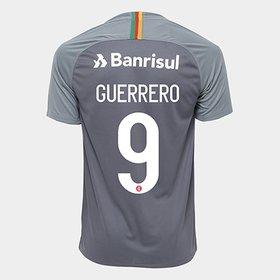 Camisa Internacional III 2018 N° 9 Guerrero - Torcedor Nike Masculina 4fe526b71982e