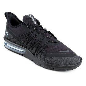 f8640b76a Tênis Nike Air Max Sequent 4 Masculino - Preto e Dourado - Compre ...