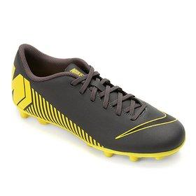 3ce5f2989b Chuteira Campo Nike Mercurial Vapor 12 Club Neymar FG - Amarelo e ...