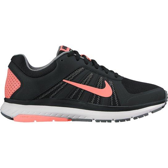 040338de002 Tênis Nike Dart 12 MSL Feminino - Preto e Salmão - Compre Agora ...