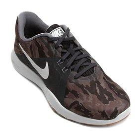 3d65f94a75f76 Tênis Nike Flex Trainer 6 Feminino - Cinza e Azul - Compre Agora ...