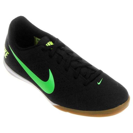 3bec61d57fa Chuteira Futsal Nike Beco 2 Futsal - Preto e Verde Limão - Compre ...
