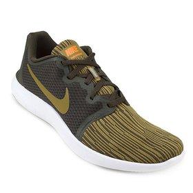 7ab4818a8f1f3 Tênis Nike Flex Contact 2 Masculino - Branco e Cinza - Compre Agora ...