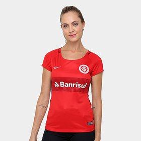 8f2e3c819c5 Camisa Nike Internacional Home - 17 18 s nº - Torcedor - Feminina