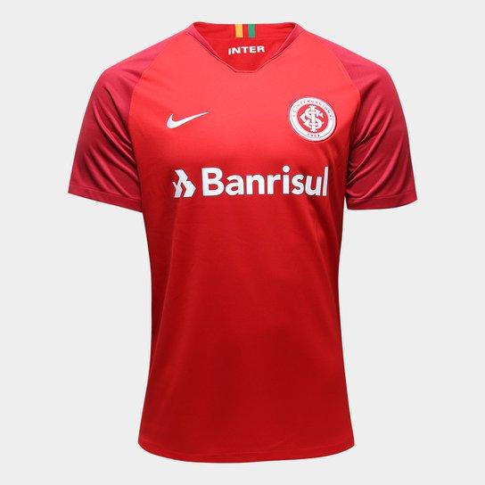 af19587afe5d6 Camisa Internacional I 18 19 Torcedor Nike Masculina - Vermelho+Branco