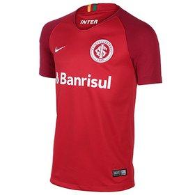 8b750c15a0 Camisa Internacional I 18/19 Torcedor Nike Masculina - Vermelho e ...