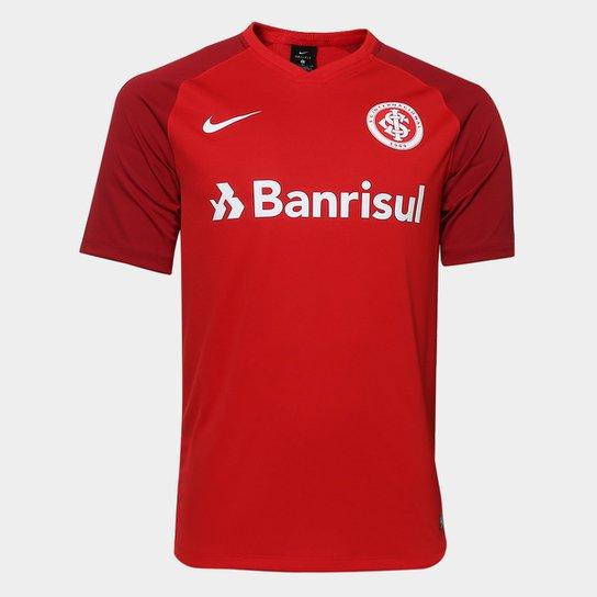 Camisa Internacional I 2018 s n° - Torcedor Estádio Nike Masculina -  Vermelho+ acb3eaaa989da