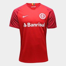 Camisa Internacional I 18 19 s nº Torcedor Nike Masculina C  Patrocíni. b658112594341