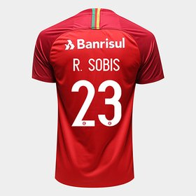 888dbab2e8 Camisa Internacional I 18 19 n° 23 R.Sobis Torcedor Nike Masculina