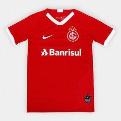 b76007306800f Camisa Internacional Infantil I 19/20 s/nº Torcedor Nike