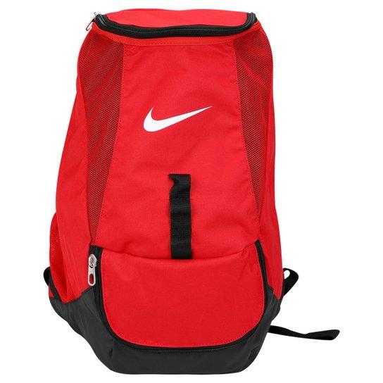 dafdabb07 Mochila Nike Club Team Swoosh - Vermelho+Preto