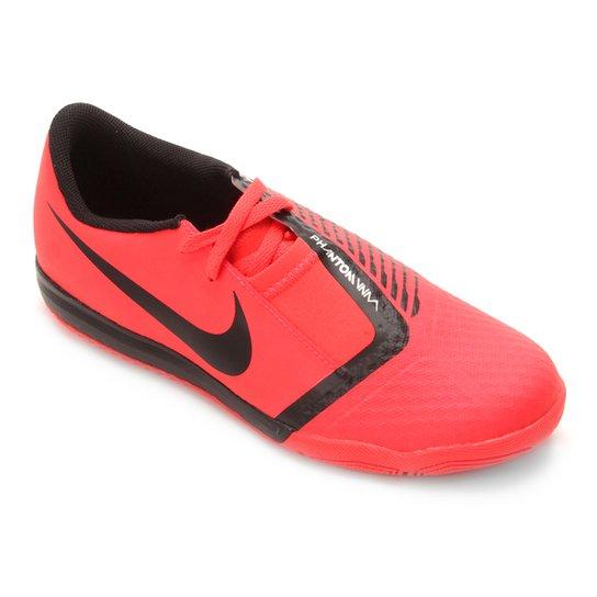 e9f3362a484cc Chuteira Futsal Infantil Nike Phantom Venom Academy IC - Vermelho e ...