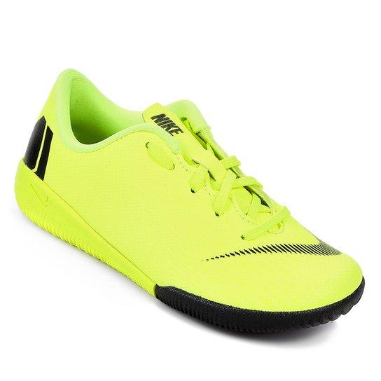e70c475b99aa5 Chuteira Futsal Infantil Nike Mercurial Vapor 12 Academy - Amarelo+Preto