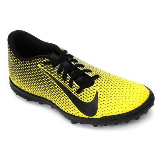 1a0cc5bd10cb4 Chuteira Society Nike Bravata II TF - Amarelo e Preto | Loja do Inter