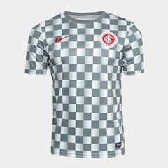 5566bb0d3d812 Camisa Internacional Pré Jogo 19 20 Nike Masculina