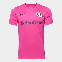 Camisa Internacional Outubro Rosa Nike Masculina 21eeb272c5482