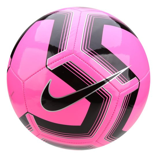 aa9fb060d Bola de Futebol Campo Nike Train Pitch II - Pink e Preto | Loja do Inter