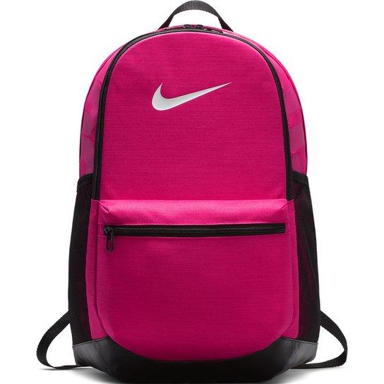 0dda074ac86ff Mochila Nike Brasília - Rosa e Preto - Compre Agora
