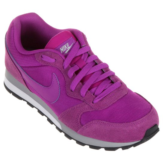 ceaf8b12da1 Tênis Nike Md Runner 2 Feminino - Roxo - Compre Agora
