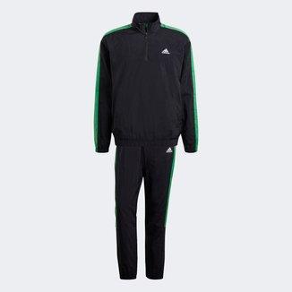 Agasalho Adidas Woven 1/2 Zips Masculino