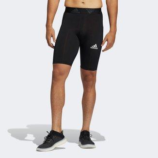Bermuda Compressão Adidas TechFit Masculina
