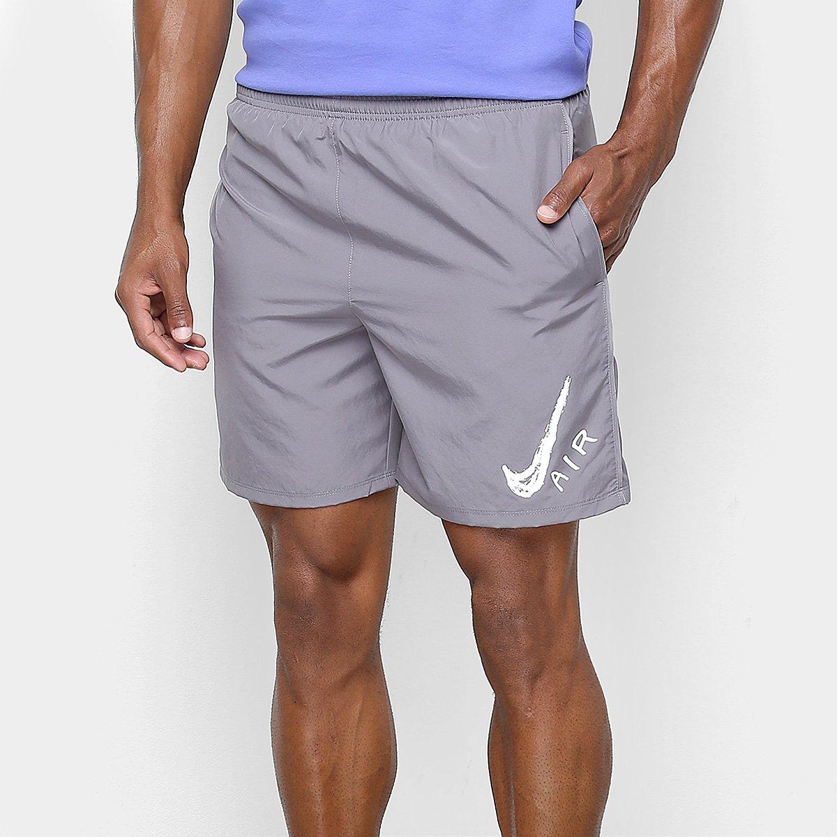 4135e85407 Bermuda Nike Run Short 7In Gx Masculina - Cinza - Compre Agora ...