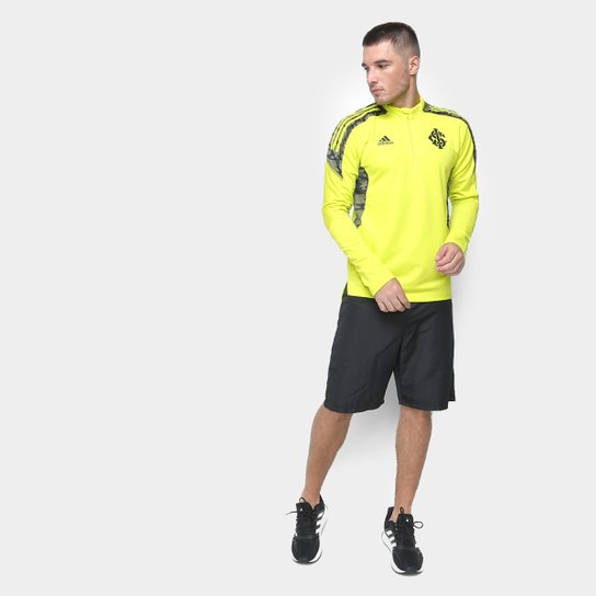 Blusa Internacional Treino 21/22 Adidas Masculina - Amarelo