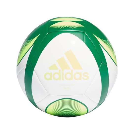 Bola de Futebol Campo Adidas Starlancer Plus - Branco+Verde