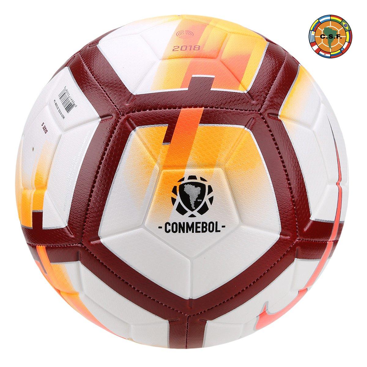 Bola de Futebol Campo Nike CONMEBOL CSF Strike - Compre Agora  f7f6fb72f4d45