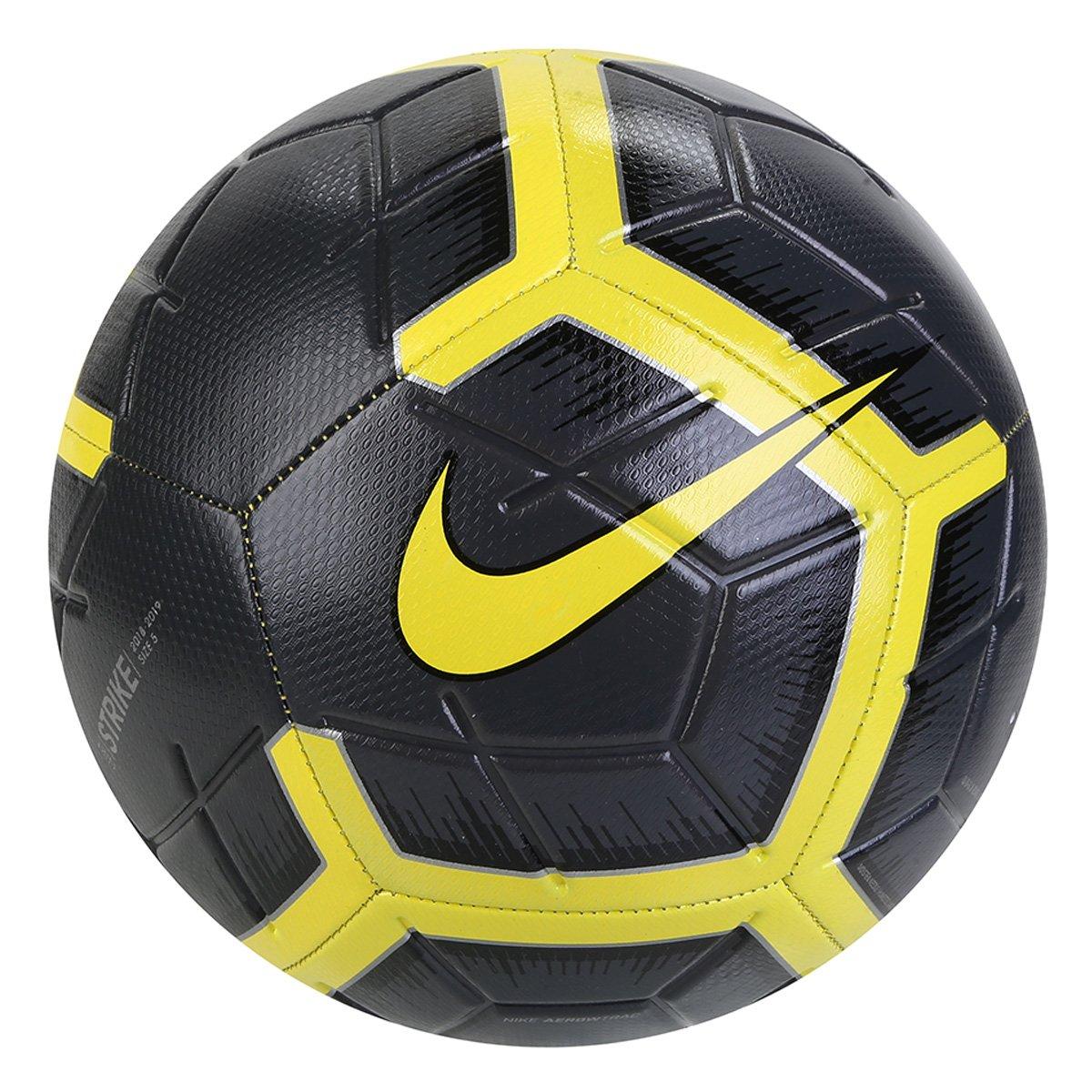 c7fde3af8 Bola de Futebol Campo Nike Strike - Amarelo e Preto - Compre Agora ...