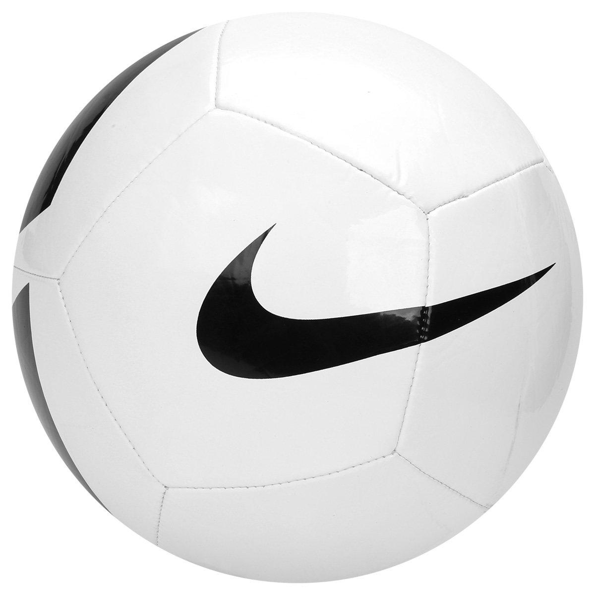 e50b5a0541 Bola Futebol Campo Nike Pich Team - Branco e Preto - Compre Agora ...