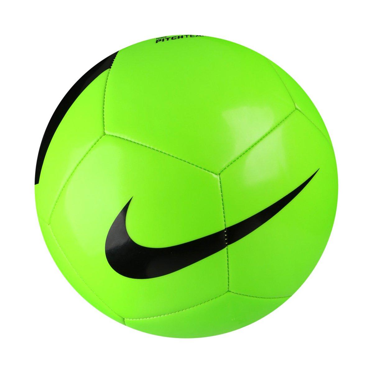 Bola Futebol Campo Nike Pich Team - Verde Claro e Preto - Compre ... 3e3f9754c3b14