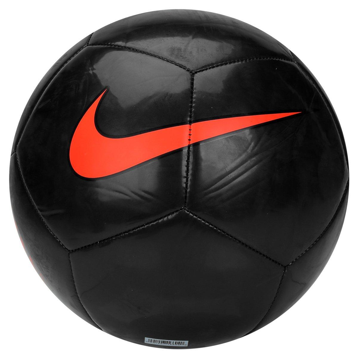 Bola Futebol Campo Nike Pitch Trainning - Preto e Laranja - Compre ... b9a70dca6670c